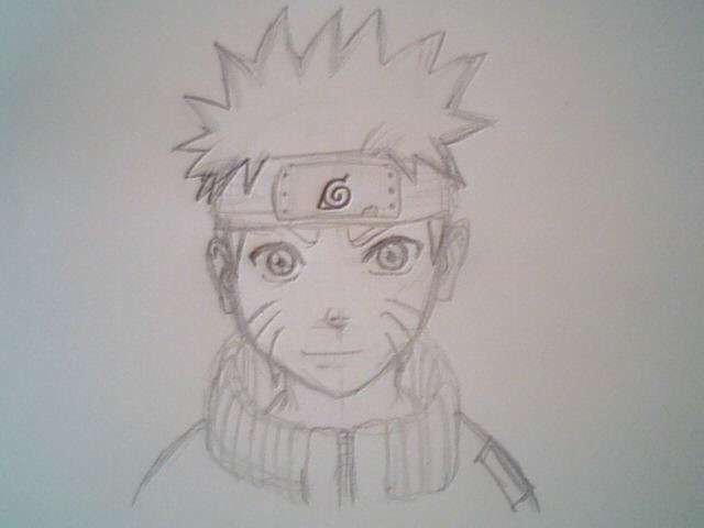 640x480 my naruto pencil drawing by thomvanrijckevorsel on deviantart