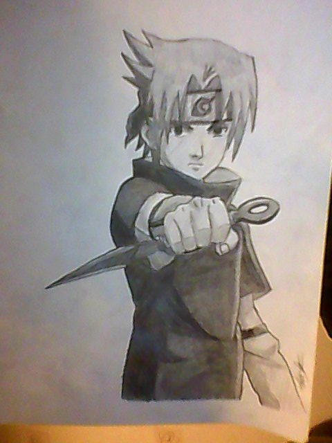 Naruto drawing in pencil at getdrawings free for personal use 480x640 sasuke altavistaventures