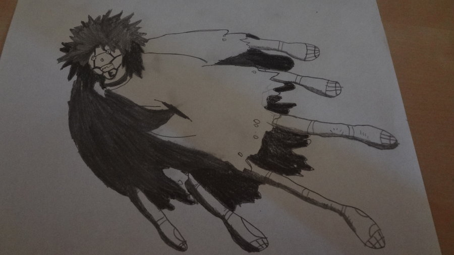 900x506 puppet crow naruto prisma pencil drawing by tropican9 on deviantart