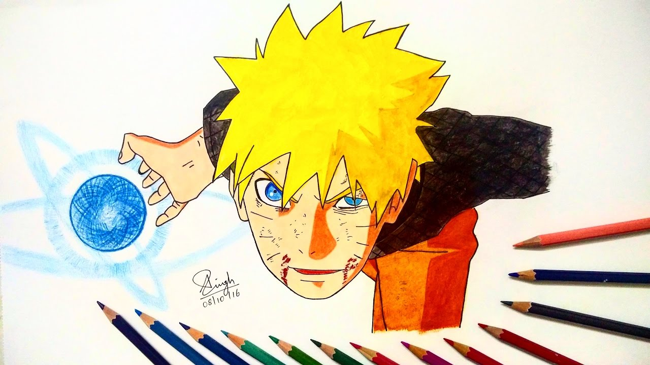 1280x720 Drawing Naruto Final Rasengan