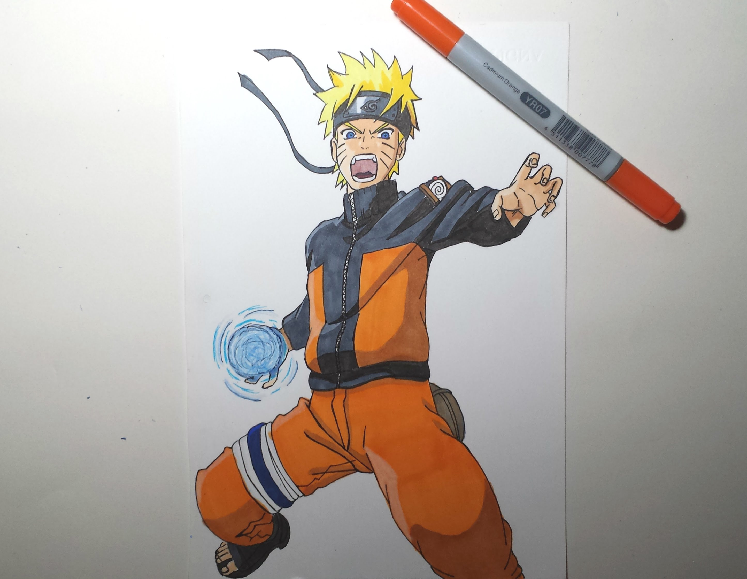 2891x2241 Speed Drawing Naruto Rasengan (Hd)