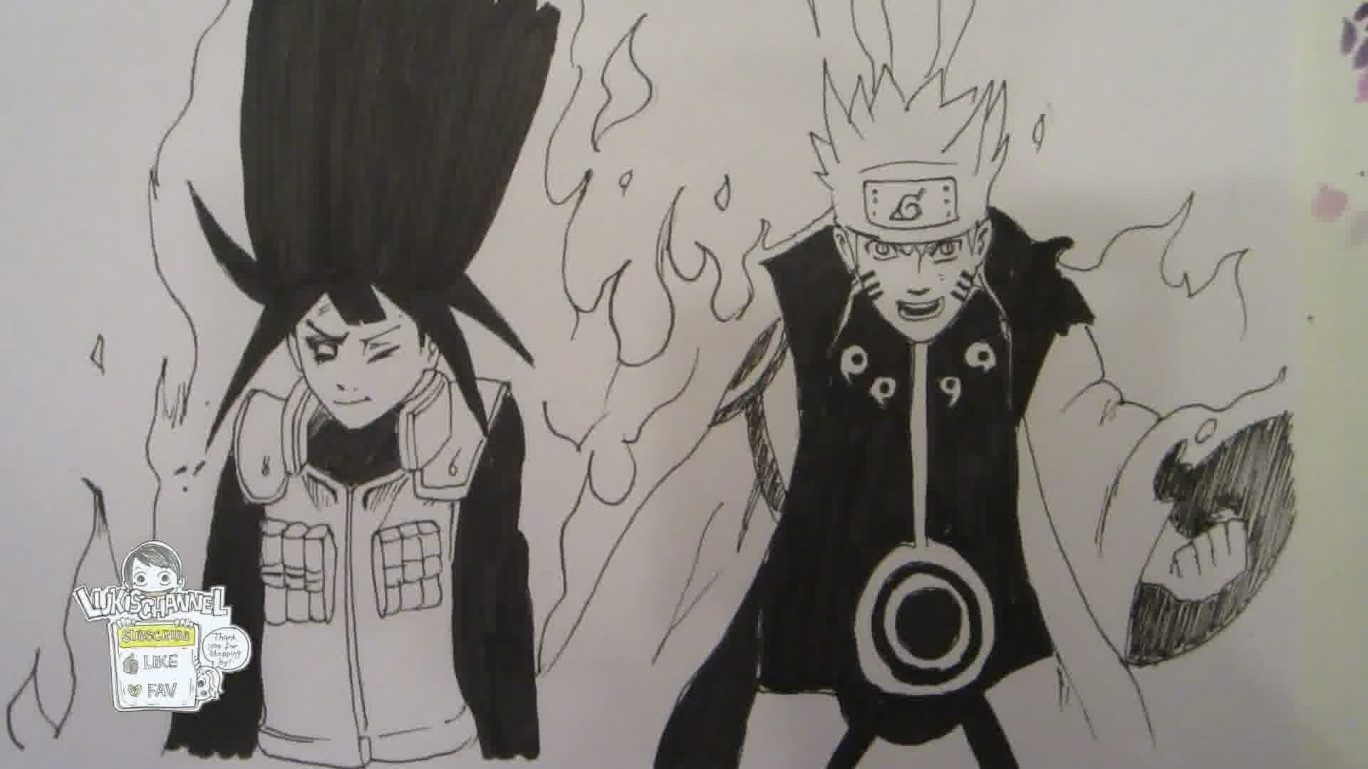Naruto Sage Mode Drawing At GetDrawings
