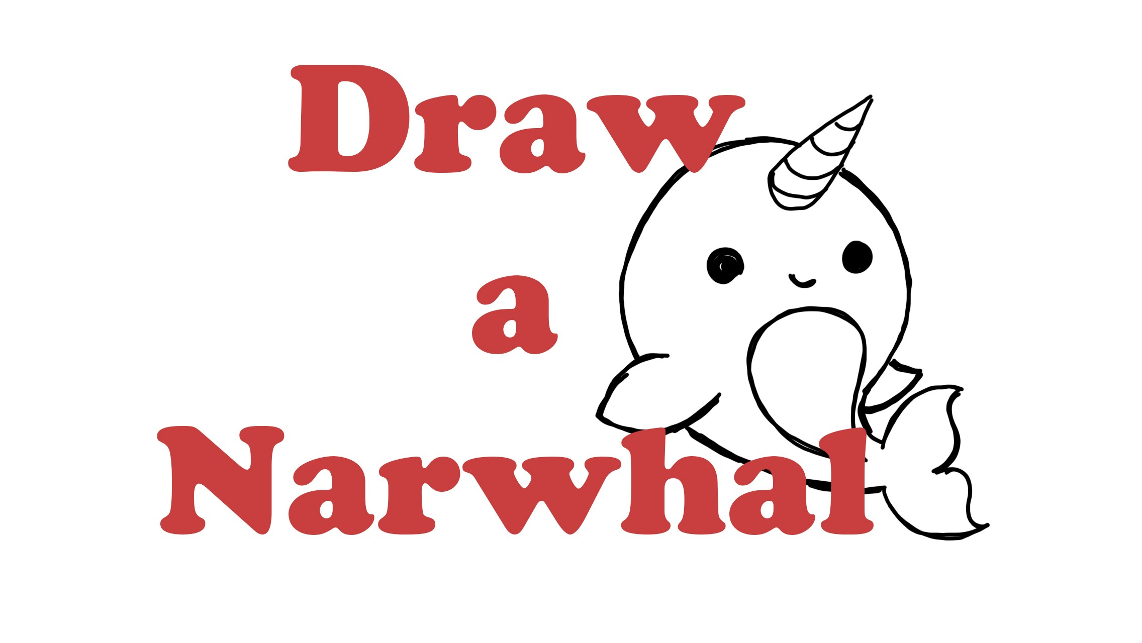 2272x1280 How To Draw A Narwhal