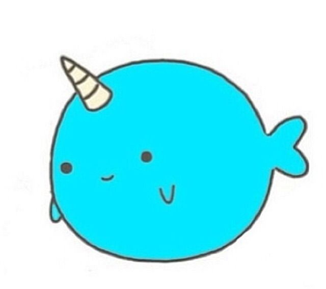 640x567 Narwhal Whale Cartoon 1000 Ideas About Narwhal Tattoo
