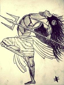 Nataraja Drawing at GetDrawings com | Free for personal use