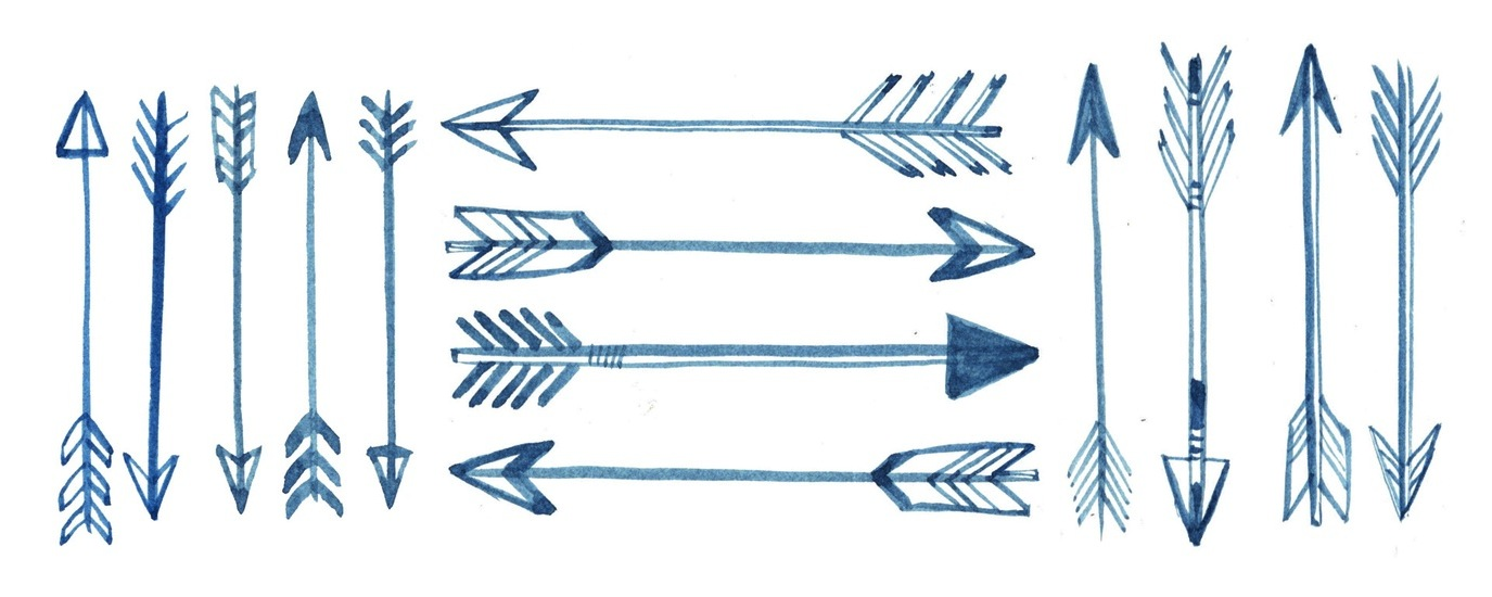 1375x550 Trend Tracker Arrows Feathers, Tattoo Drawings And Arrow Tattoos