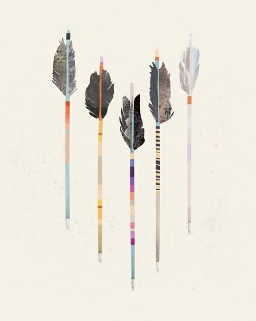 500x626 Native American Arrow