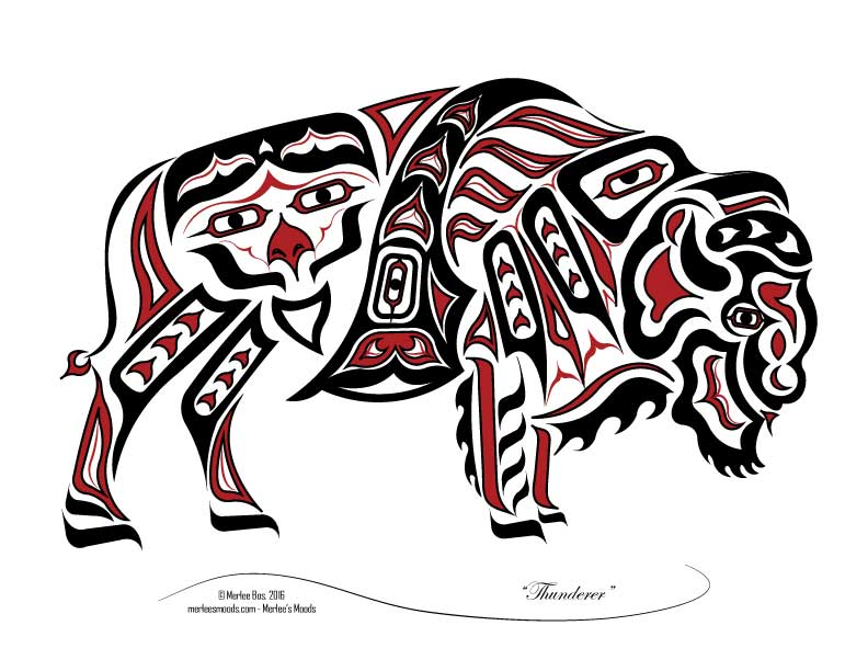 792x612 Pictures Native American Buffalo Art,