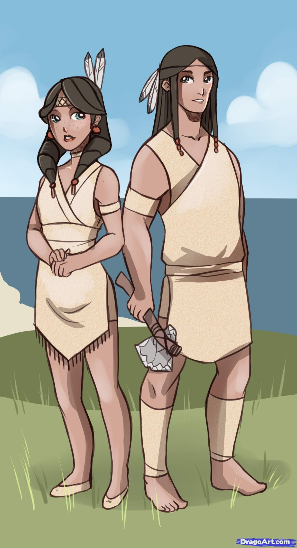 1156x2133 How To Draw Indians, Draw Native Americans How To Draw