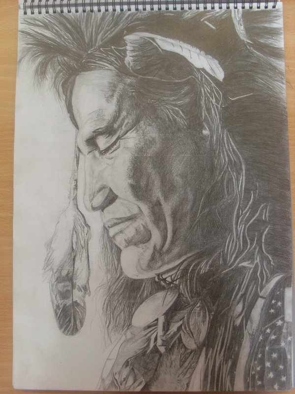 600x800 native american pencil drawing by the artist 89 on deviantart