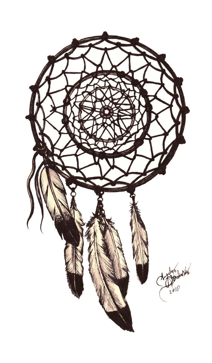 683x1170 Dream Catcher Tattoo