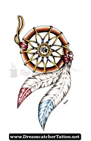 292x450 Native American Dreamcatcher Tattoo 10