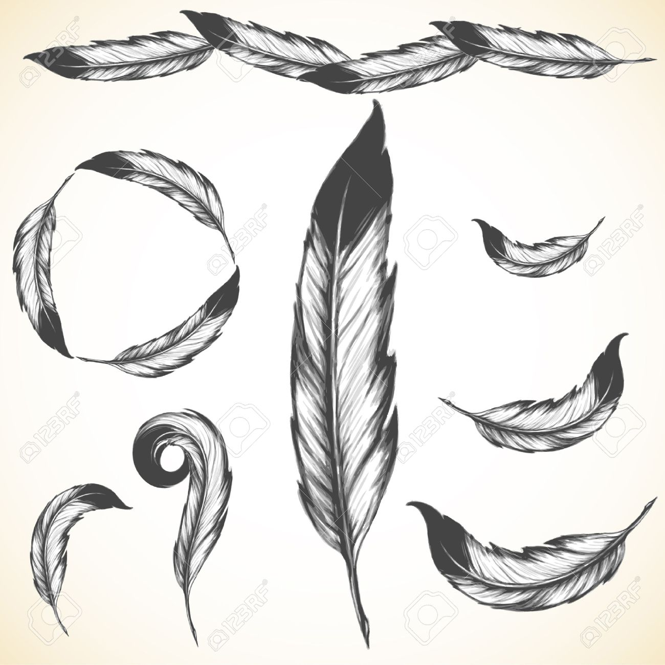 1300x1300 21,259 Indian Feather Stock Illustrations, Cliparts And Royalty