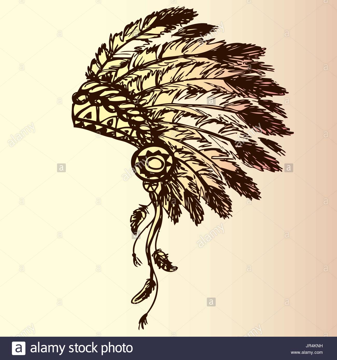 1300x1390 Native American Indian Chief Headdress (Indian Chief Mascot