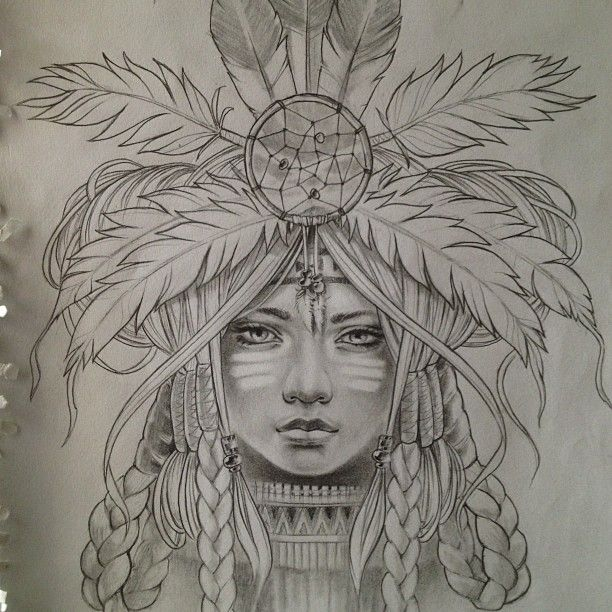 612x612 photos native american indian sketches
