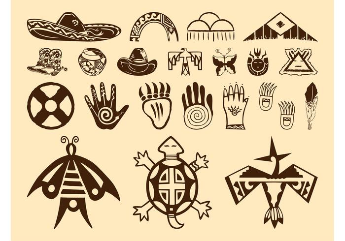 Native American Symbols Drawing At Getdrawings Free For