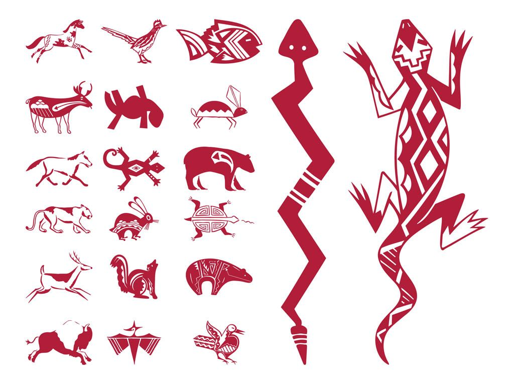 1024x765 Native American Bear Patterns Native American Designs Native