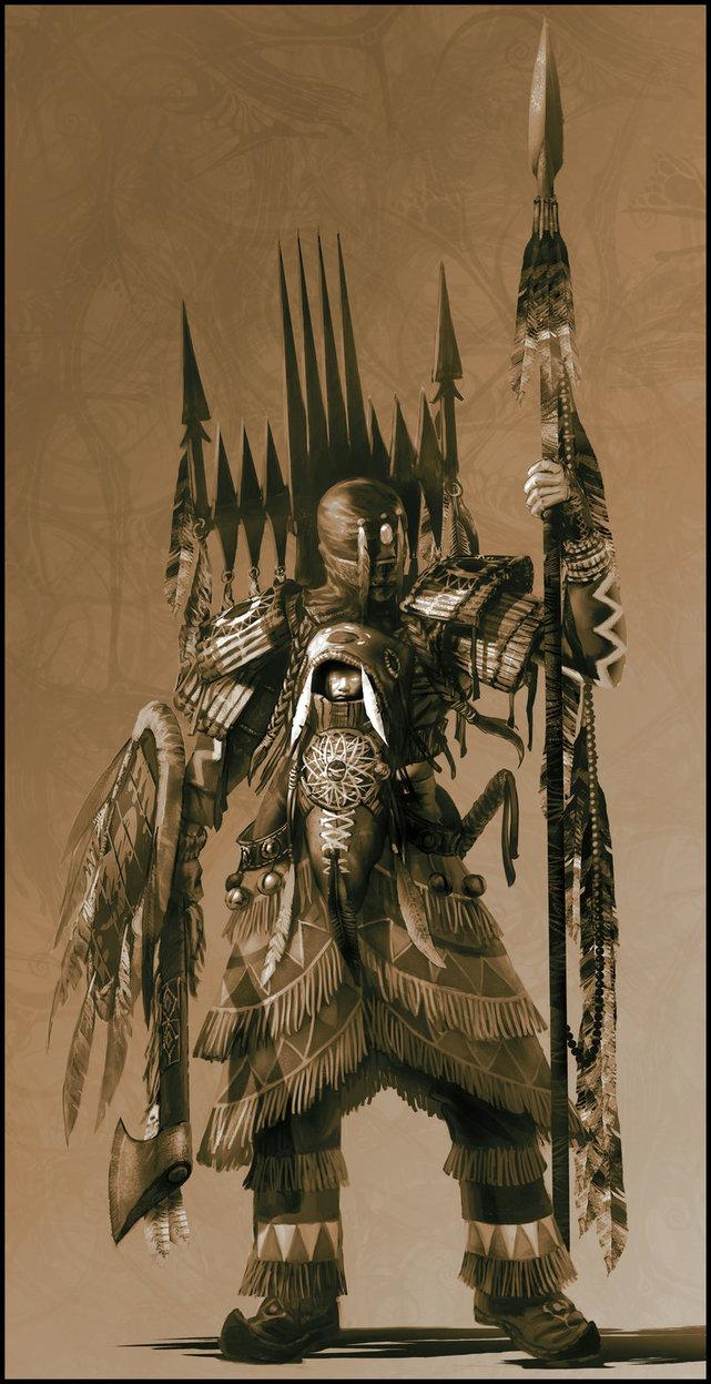 641x1247 Indian Warrior Mystic By Jubjubjedi