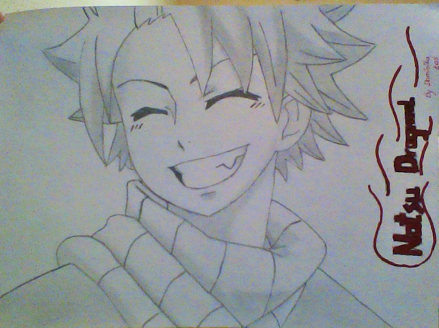 Lucy Heartfilia Lineart : Natsu dragneel from fairy tail drawing at getdrawings.com free for