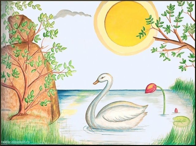 640x477 Nature Scene For Drawing Beautiful Nature Drawings Download