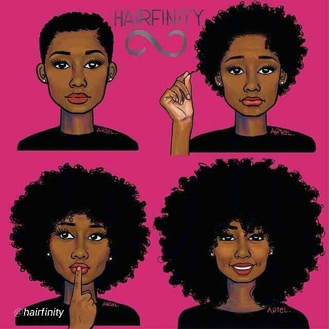 640x640 African American Natural Hair Clipart (40+)