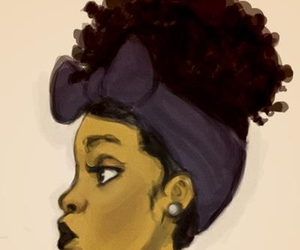 300x250 Natural hair art uploaded by [ HER ] on We Heart It