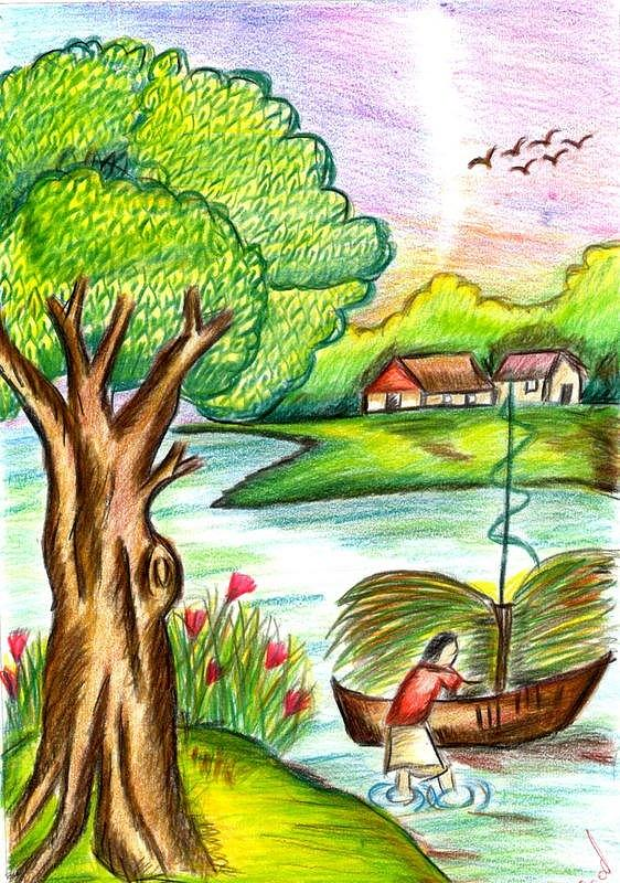 Nature Drawing Photos At Getdrawings Com Free For Personal Use