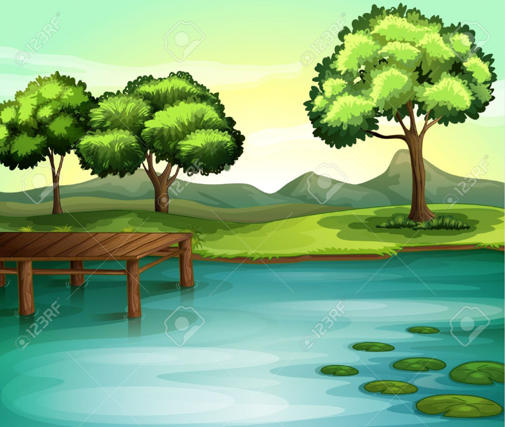 1024x867 Beautiful Nature Drawing Easy Drawing About Beautiful Nature