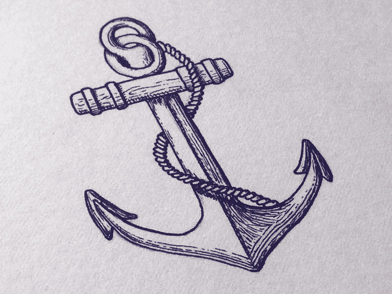 800x600 Anchor Shirt Hand Lettering By Seanwes