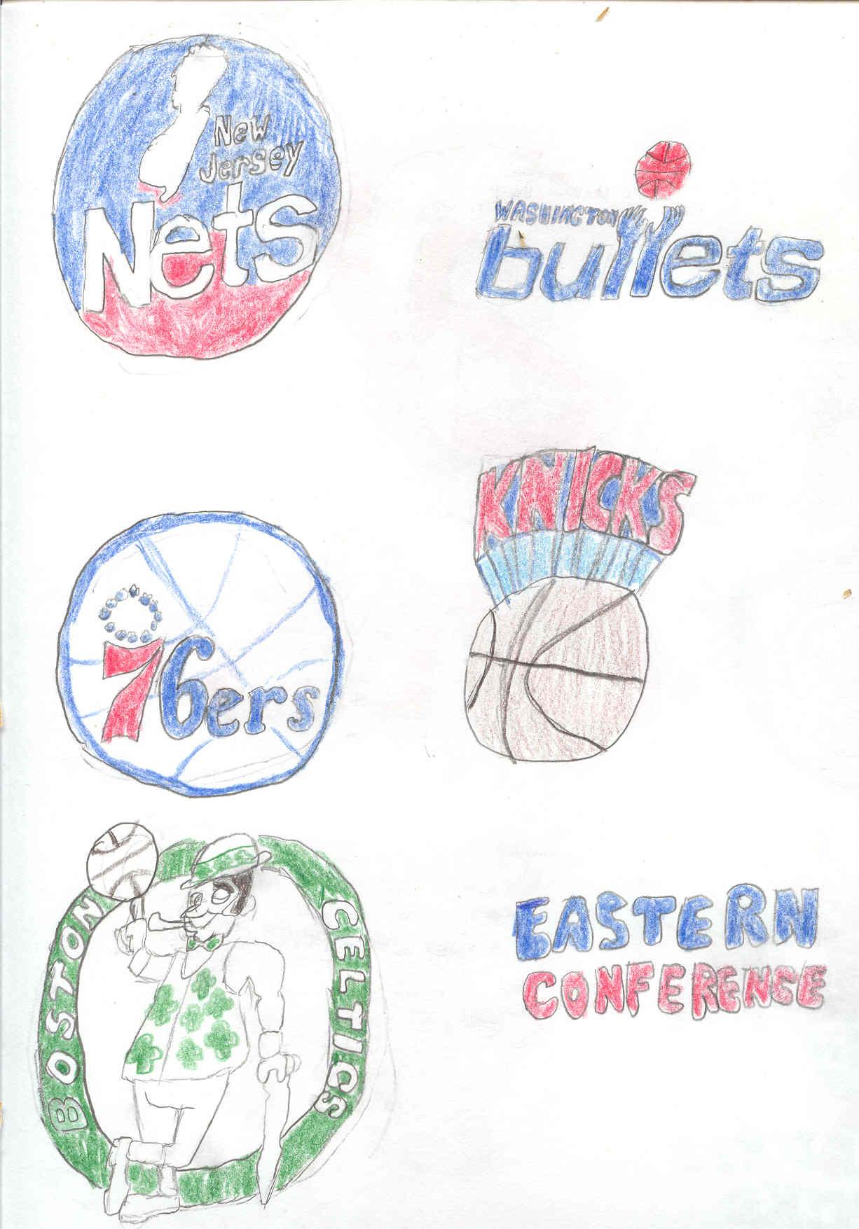 1226x1755 Old Nba Logos 2 By Sam Gwosdz