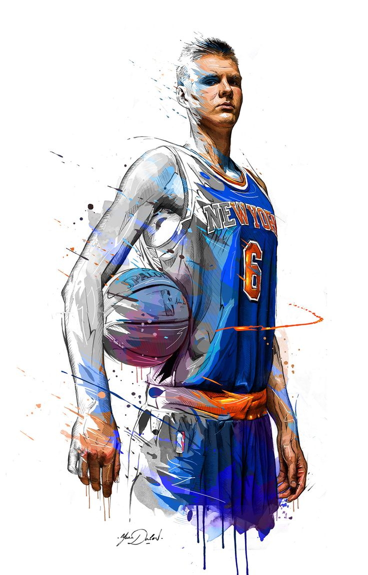 Nba Player Drawing At Getdrawings Com Free For Personal Use Nba