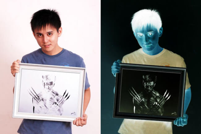 650x433 Brian Lai Creates Negative Drawings That Look So Realistic When