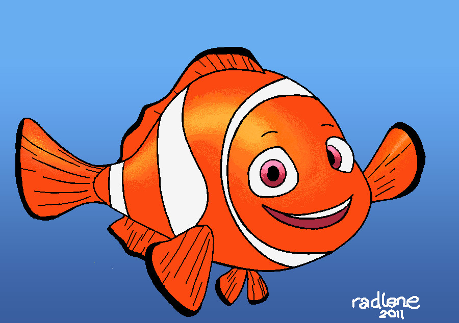900x634 Nemo Drawing In Ms Paint By Radexopoblete