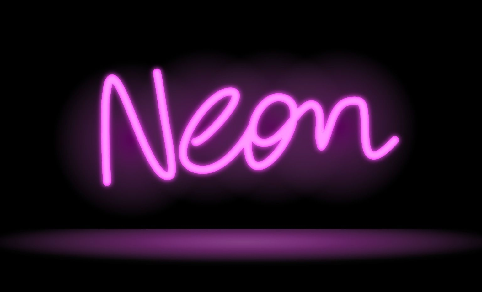 1536x933 Neon Signs Drawing A Neon Sign In Inkpad Neon Paradise