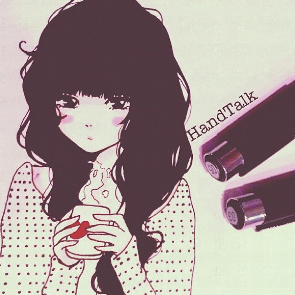 250x250 Nerdy Girl 1024x1024 Old Morning Drawing By HandTalk On DeviantArt