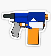 210x230 Nerf Drawing Stickers Redbubble