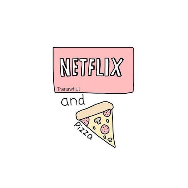 610x608 Drawing, Food, Netflix, Overlays, Pizza, Series, Transparent, Tv