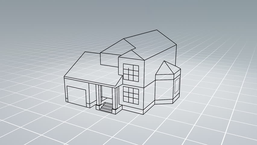 Line Drawing Of Your House : New house drawing at getdrawings free for personal use
