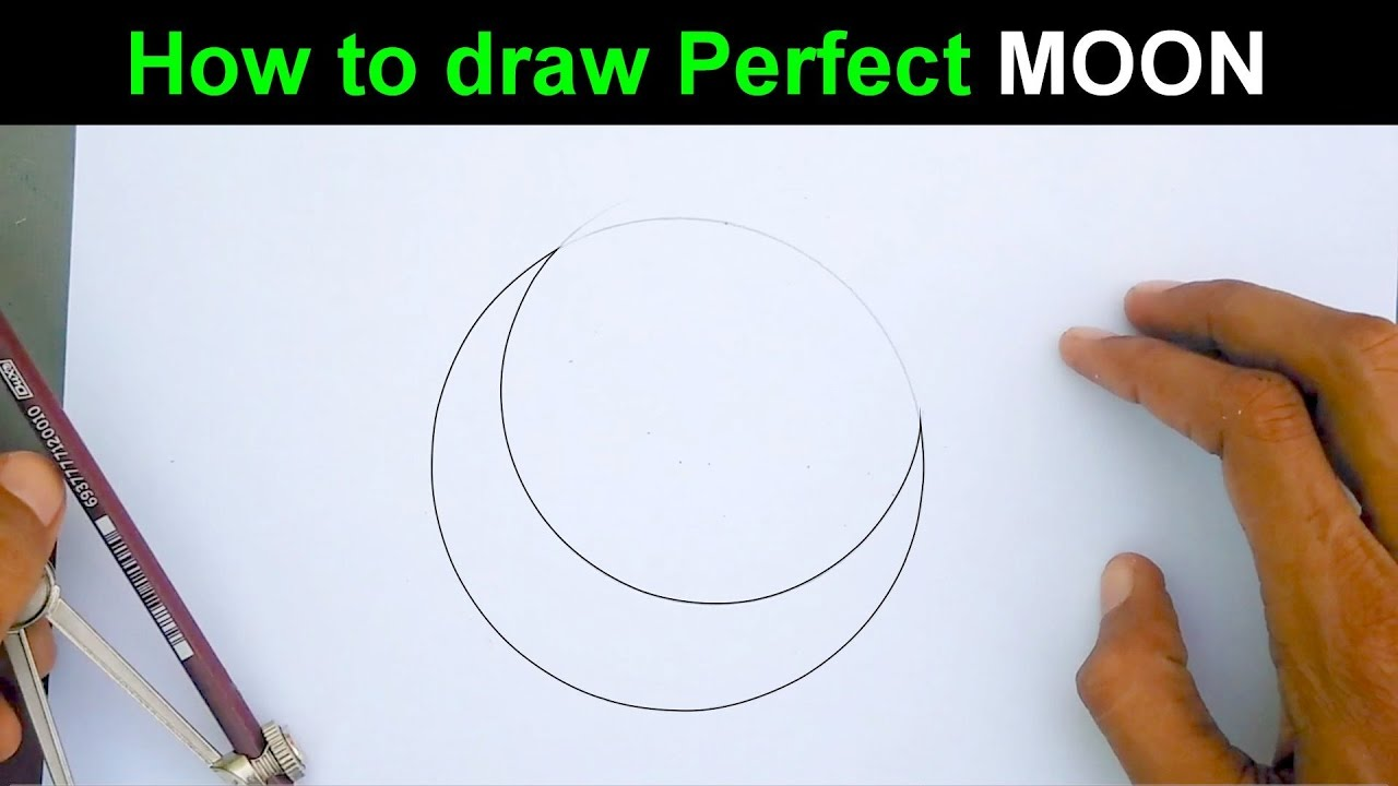 1280x720 Learn To Draw A Perfect Moon