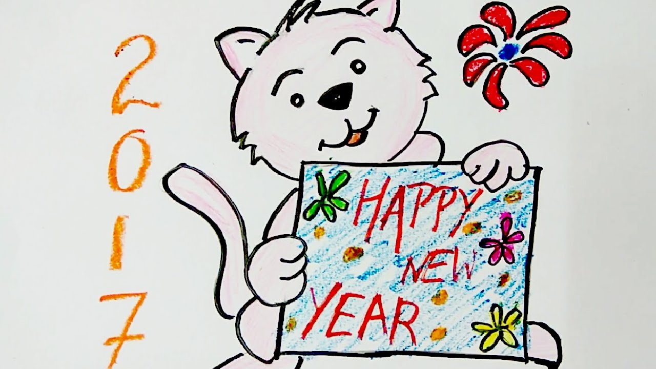 New Year Drawing At Getdrawings Com Free For Personal Use New Year