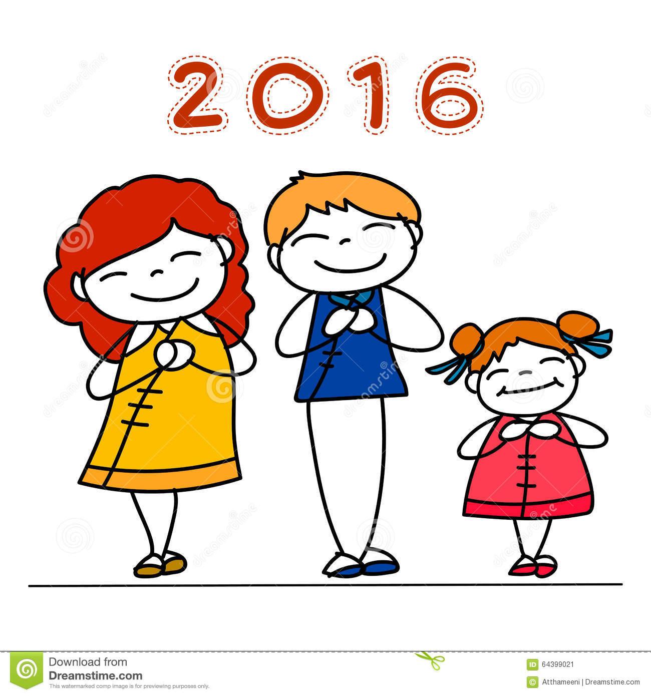 1300x1390 Cartoon New Year Drawings Merry Christmas Amp Happy New Year 2018