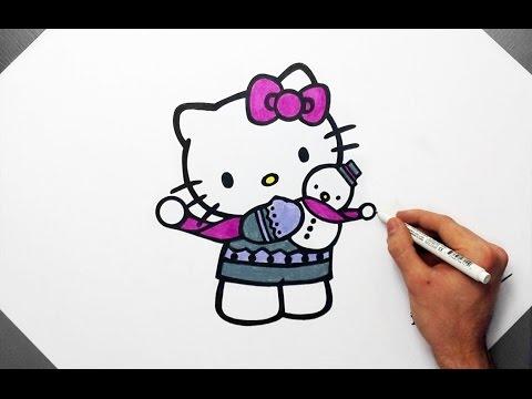 480x360 Hello Kitty Drawing