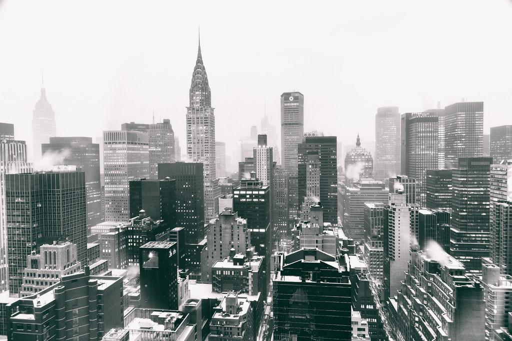 1024x683 New York City Black And White