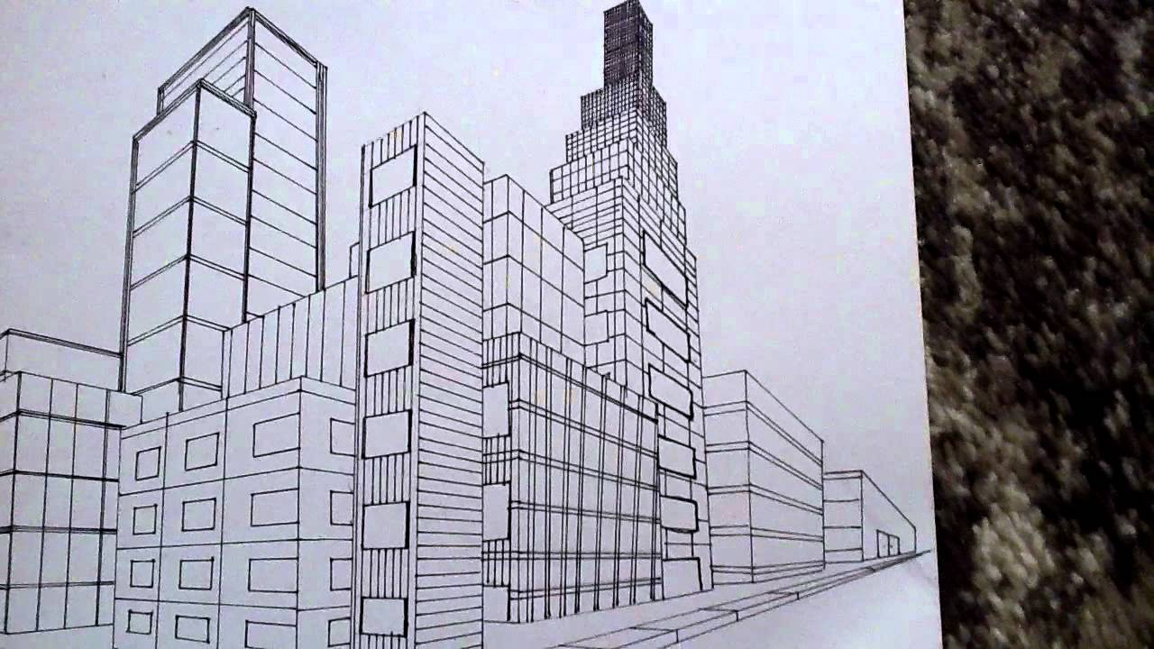 1280x720 How To Draw Bulding Of New York Not Naruto Today