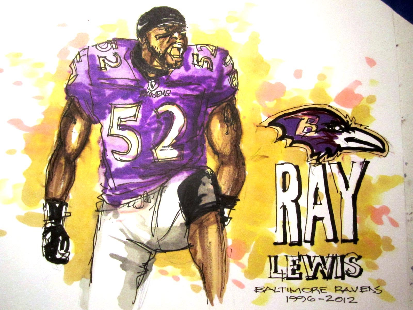1600x1200 Nfl Football Series Ray Lewis Baltimore Ravens Lb Time Lapse