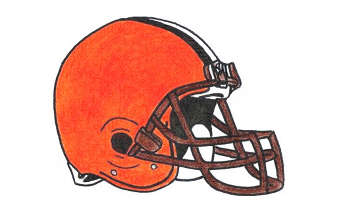 1500x885 How To Draw The Cleveland Browns Logo (Nfl)