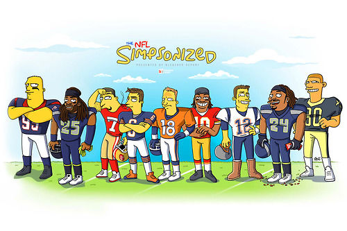 500x333 Cartoon Football Teams Nfl Football Teams