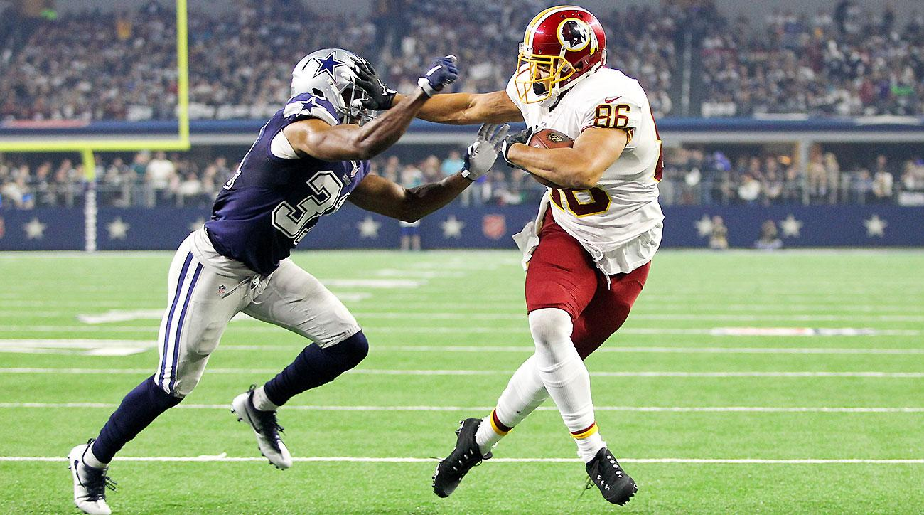 1300x724 Jordan Reed Are Nfl Players Becoming Too Big And Too Fast