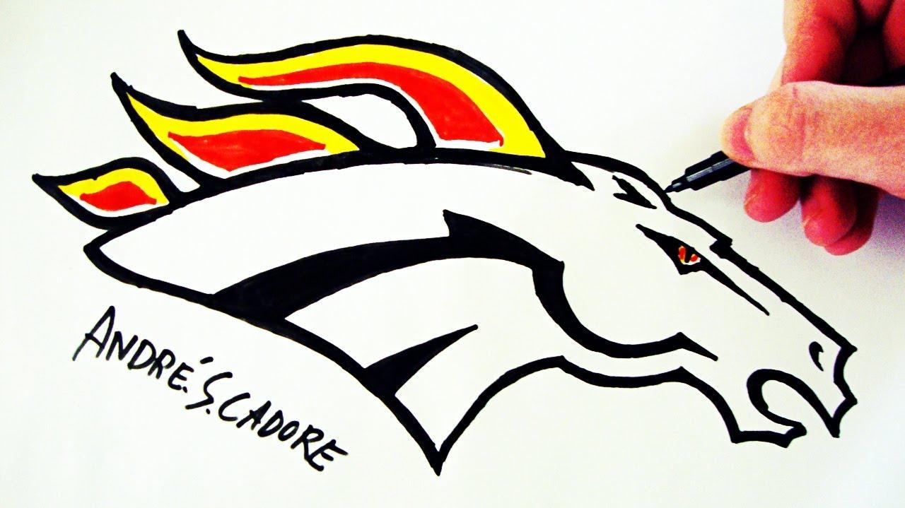 1280x719 Como Desenhar A Logo Do Denver Broncos