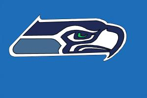 300x200 How To Draw The Seattle Seahawks Logo, Nfl Team Logo